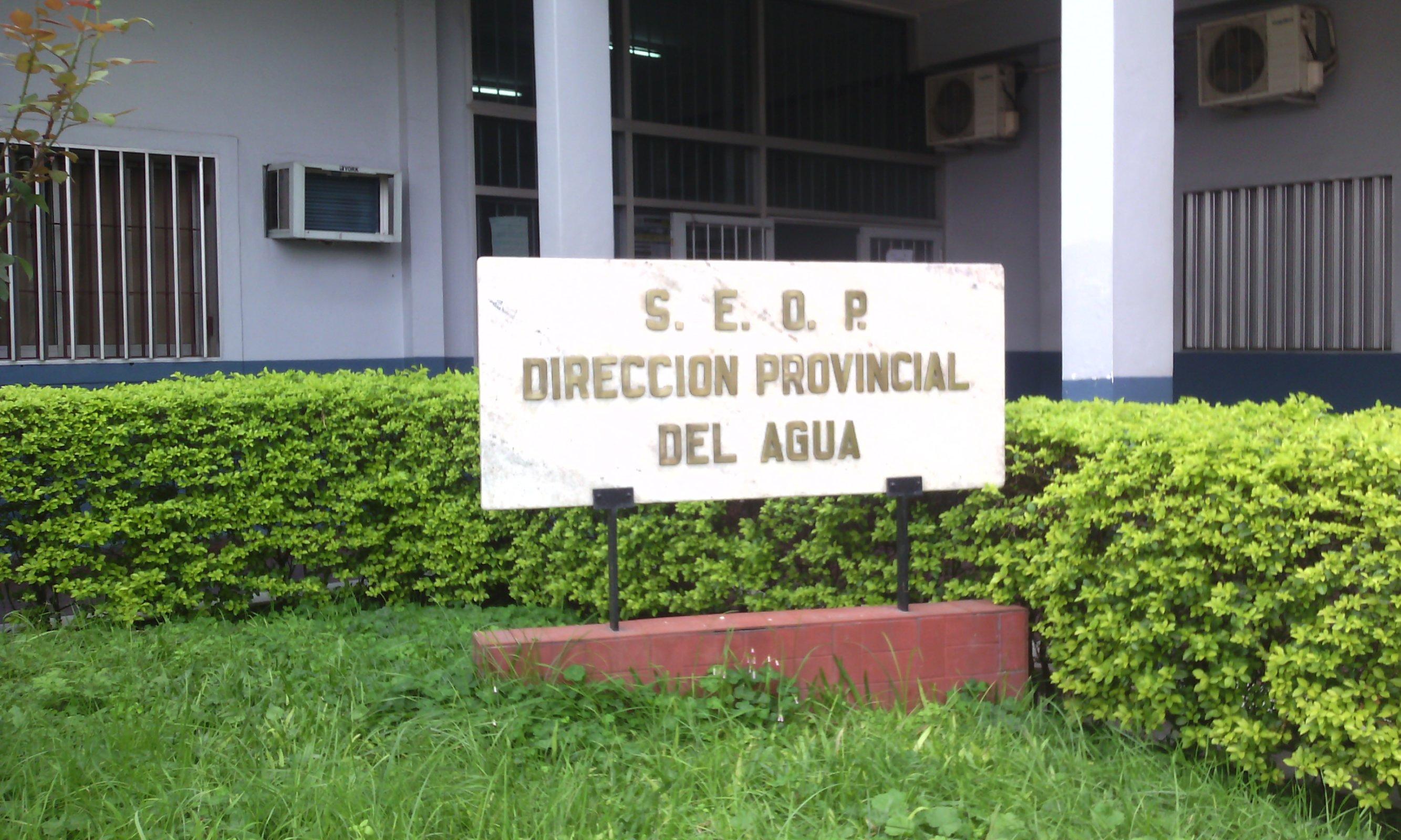 Dirección Provincial del Agua